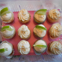 Vegan Cupcakes Vegan cupcakes with either lime frosting or passionfruit frosting. TFL!