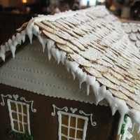Old New England Gingerbread House