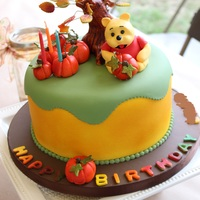 Winnie The Pooh, Fall Cake I haven't added a cake in a long time, because I haven't made too many in the past few years. This was for my son's third...