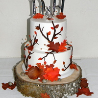 Fall Wedding Cake Fall cake