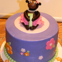 Monkey Business Cake This is a baby's first birthday cake for a photo smash cake session. The little girl's bedroom is decorated in monkey's and...