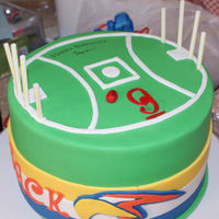 Aussie Rules Football West Coast Eagles The Look On The Young Mans Face Was One Of The Reasons I Love Making Cakes Aussie rules football. West coast eagles. The look on the young man's face was one of the reasons I love making cakes.