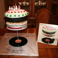 Rolling Stones....let It Bleed Cake My best friend wanted me to make this cake for his birthday. It was so fun...