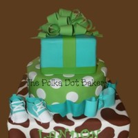 My Baby Shower Cake   Baby shower cake for my own sweet baby boy... due in 12 days!