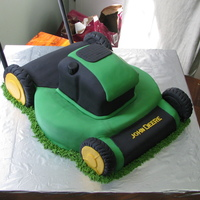 Lawn Mower John Deere mower. Was really fun to make, but took a bit of planning in terms of structure, which is all new for me. Thanks to all of you...