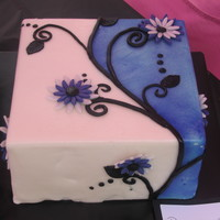 Double Colored Cake