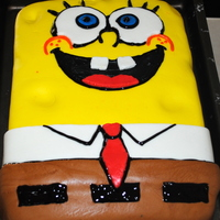 Spongebob This is my son's 10th bday cake...I saw several great ideas on here and online, so I tried my best and am really happy with how it...