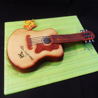 Guitar Cakes this is my first guitar cake , i made it in fondant , the man that recieved this present was sooo happyyy!