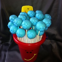 Blues Clues Cake Pop Bouquet Blues Clues Cake pop bouquet.