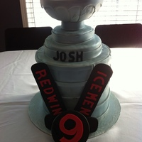 Stanley Cup Birthday Cake Cake Rkt And Fondant Stanley Cup Birthday Cake Cake, RKT and fondant