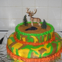 Camo Cake For Daughter's 18Th Birthday I made this for my daughters 18th birthday