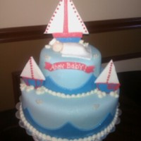 Sailboats N Ocean Baby Shower Theme Sailboats n Ocean Baby Shower Theme
