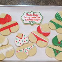 Christmas Lingerie  Christmas 2013 lingerie for someone who gave these as a gift. I just ordered a corset, bra top and bikini bottom cookie cutter. Can't...