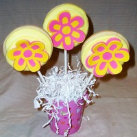 Cookie Bouquet cookie bouquet, design cut from cricket