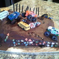 Mud Bogging Cake Mud Bogging Cake