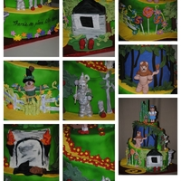 Allentown Fair Cake Decorating Entry