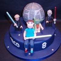 Star Wars   All edible and fondant