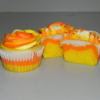 Candy Corn Cuppies