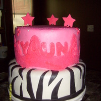 Girls B-Day Cake