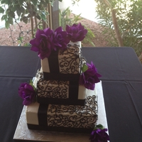 Black/white Wedding Inspiration from photos here on Cake Central...