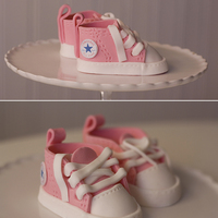 Modeling Paste Baby Converse  Had some free time on my hands so I decided to give the baby converse another go. Last time was a disaster, but this time I think they...