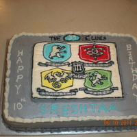 39 Clues Cake 39 clues image of the different branches is a FBCT.