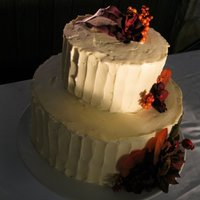 Oct 9, 2010 White sour cream cake with raspberry white chocolate filling. Frosting is white chocolate cream cheese.