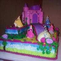 Princess Castle Wanted to do a different Castle cake...so her it is..I like the finished product..ENJOY!