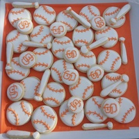 Giants Made these for the end of the season celebration for my son's little league team ;0)