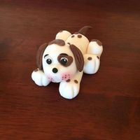 Puppy Dog Cake Topper