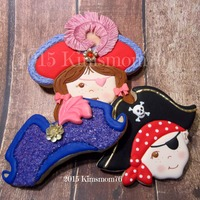 Pirate Set   Updated pirate designs. NFSC and RI as well as fondant accents.