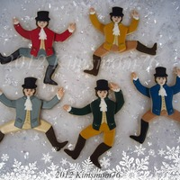 Part Of A Group Effort For The 12 Days Of Christmas I Did The Lords A Leaping I Was Actually Able To Animated Them As Well Hand Cut Nfsc  Part of a group effort for the 12 days of Christmas. I did the Lords a leaping. I was actually able to animated them as well. Hand cut NFSC...