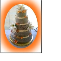 Tree Wedding Cake This was a disaster once finished, it started to lean and I had to tear it apart and re-dowel the base cake. All 1 hour to delivery. Final...