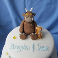 "The Gruffalo I made this for a friend of a friends sons Christening. I really enjoyed doing this. The mouse was tricky, as he's about 1"" high..."