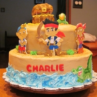 Jake And The Neverland Pirates   A mixture of alot of different cakes, thanks to all for the inspiration!