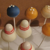 Bowling Cake Pops