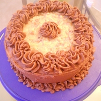 German Chocolate German Chocolate Cake with Coconut Pecan Filling