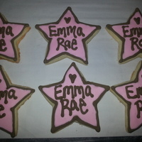 Baby Shower Cookies For Baby Emma Rae!