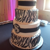 Zebra Wedding
