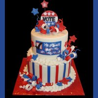 Election Day Cake Election Day cake