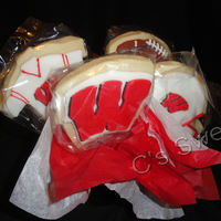 Wisconsin Badgers NFSC with fondant details