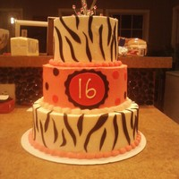 Sweet 16 I had to do this in an hour and a half. It was for my little sister's friend's birthday party and she told me the wrong night!!...