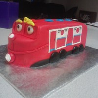Chugginton The Train All fondant with BC accents.