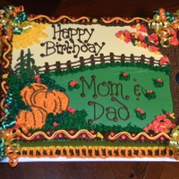 Fall Themed Birthday