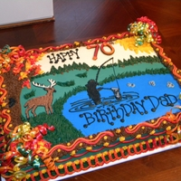 Hunting/fishing Birthday
