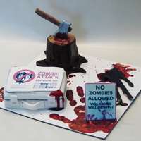 Zombie Attack Cakelets- Are You Prepared?