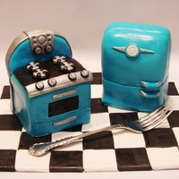 Retro Kitchen Cakelets