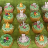 My Fun Bunch These cupcakes were made for my son's Easter school party. The children absolutely loved them. Bunnies, baby chicks, butterflies and...