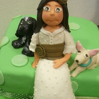 Green Girl And Dogs Communion