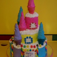 Candy Castle This idea is from the 2003 wilton yearbook.